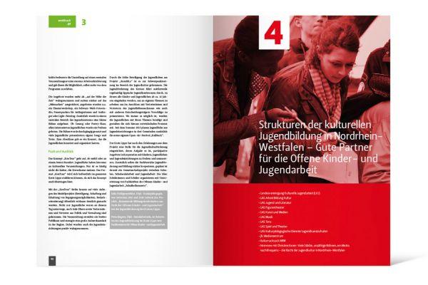 Arbeitsstelle kulturelle Bildung NRW | Werkbuch Doppelseite