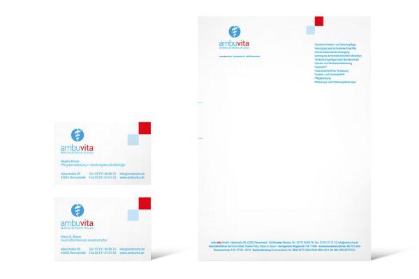 ambuvita | Geschäftsausstattung