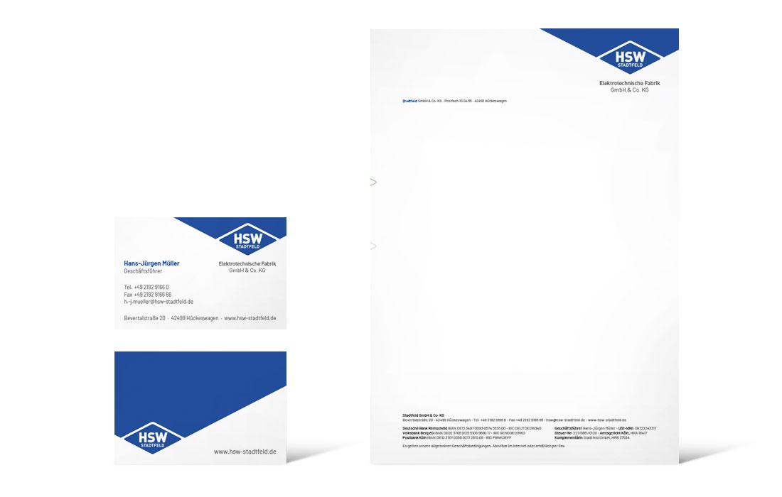 HSW Stadtfeld | Geschäftsausstattung