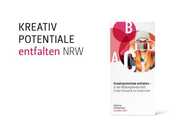 Kreativpotentiale entfalten NRW | Logo und Flyer Titel