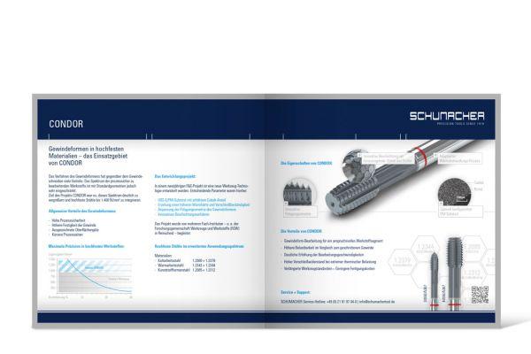 Schumacher Precision Tools   Prospekt Doppelseite