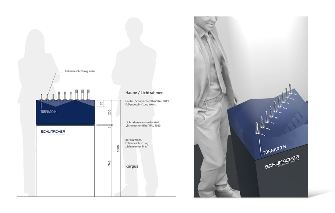 Schumacher Precision Tools   Messe Planung