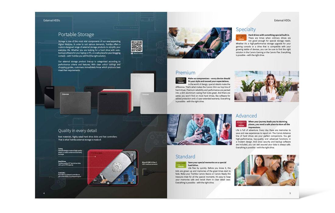 Toshiba |Katalog 2020 – Innenseite