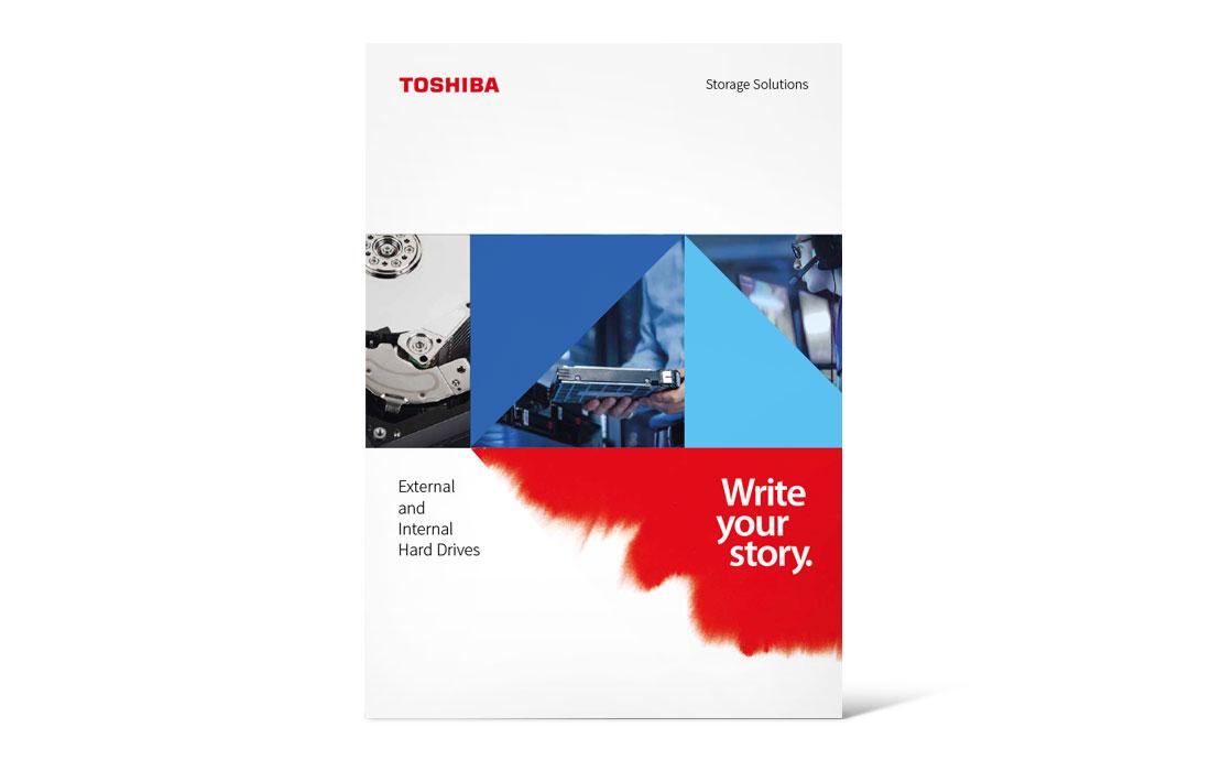 Toshiba   Katalog Storage 2019 Titel