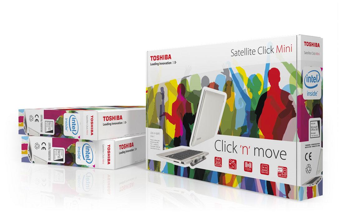 Toshiba   Verpackung