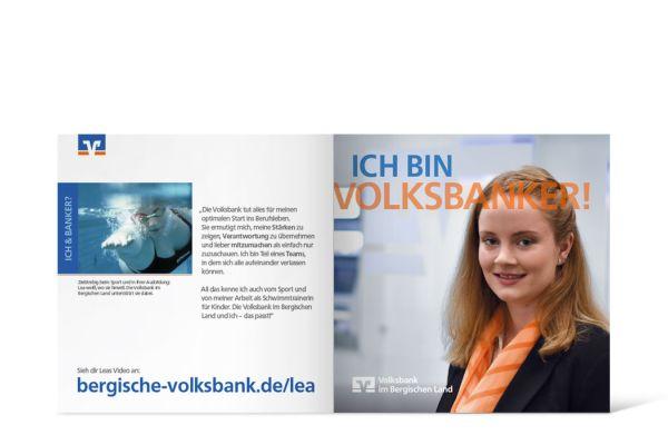 Volksbank Azubi-Kampage   Flyer Innenseite