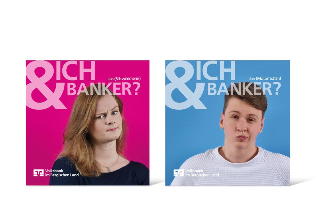 Volksbank Azubi-Kampage   Flyer Titel