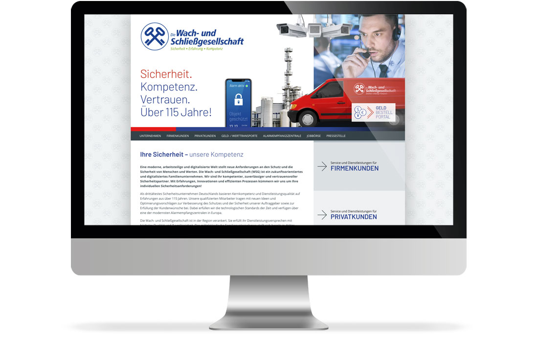 Wach- und Schließgesellschaft Wuppertal | Webseite